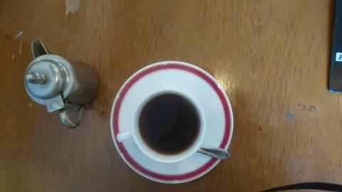 食後のコーヒーは本格的
