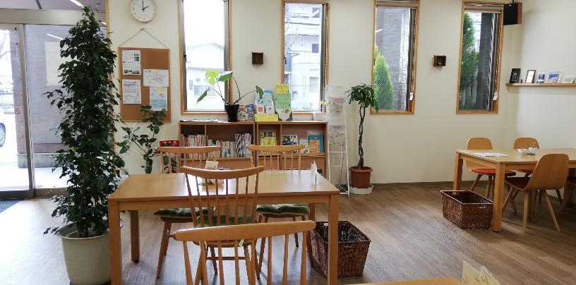 店内は落ち着いた雰囲気たっぷり・・清潔感が一杯・・コミュニティスペースとしても使い勝手がよさそうデス