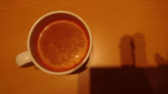 トマトスープ・・ステーキ宮、食事日のスープバーの一品