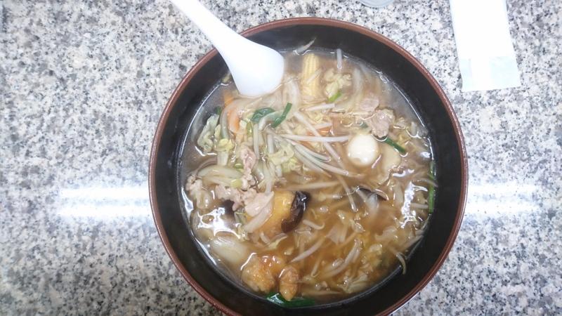餃子の王将 亀岡駅前店 にて「チャンポン」