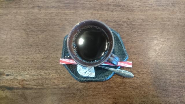 HOTコーヒー付 にしました