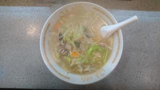 「東香園」の チャンポン